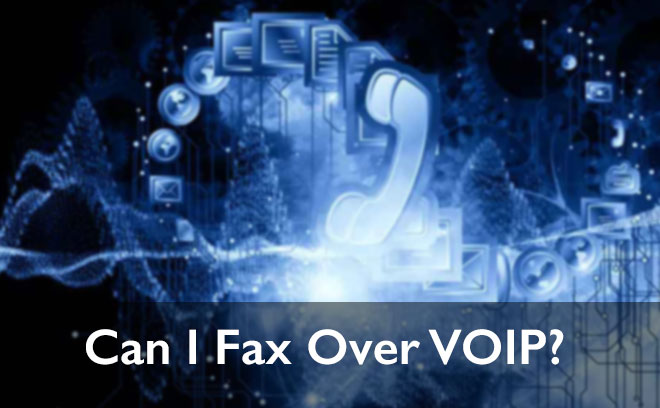 fax machine with voip