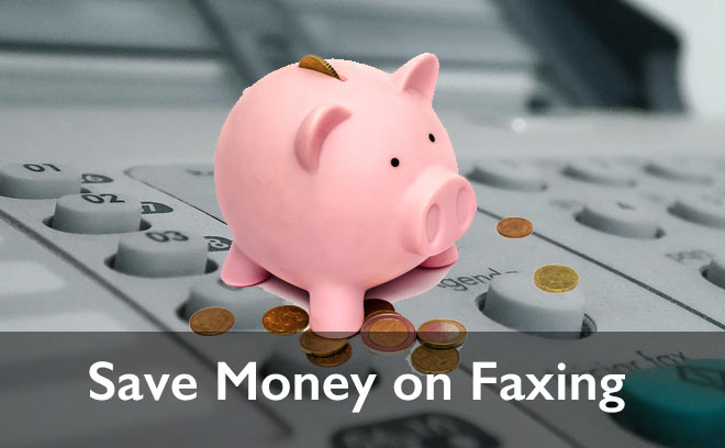 save money on faxing