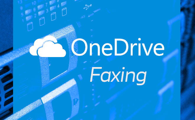how to fax onedrive documents online